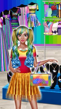 Rainbow Girls Dress Up APK screenshot 1