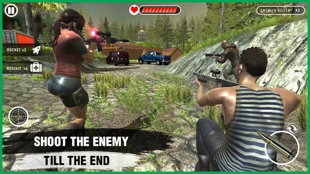 Free Fire Squad Survivor :Modern battleground 2k18 APK screenshot 1