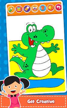 Coloring Games : PreSchool Coloring Book for kids APK screenshot 1