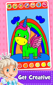 Unicorn Coloring Book - Games for Girls (No Ads)🎨 APK ...