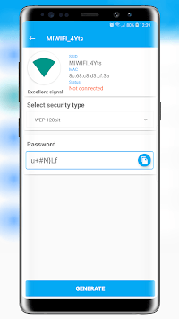 Free Wifi Password Key Generator APK screenshot 1