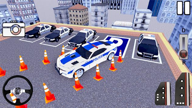 Super Dr Police Prado Parking APK screenshot 1