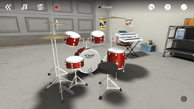 X Drum - 3D & AR APK screenshot 1