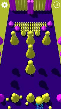 Color Dot 3D : Ball bump game APK screenshot 1