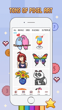 Love Pixel - Color by Number APK screenshot 1