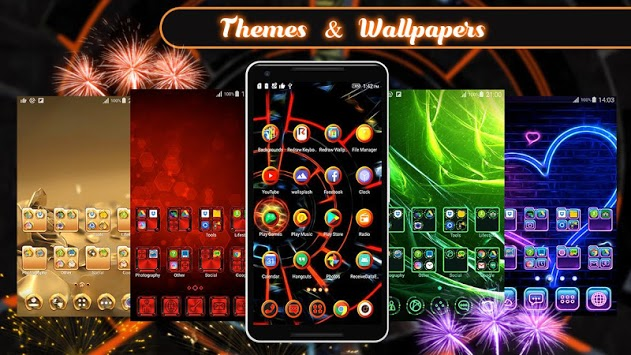 3D 2018 Theme For Android APK screenshot 1