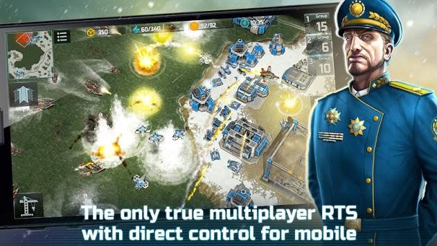 Art of War 3: PvP RTS modern warfare strategy game APK screenshot 1