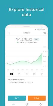 Gemini - Buy & Sell Cryptocurrency APK screenshot 1