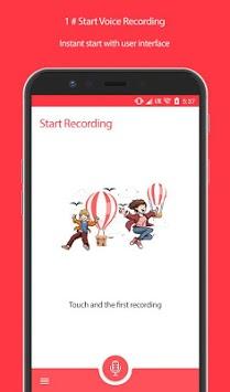 Gm Voice Recorder APK screenshot 1