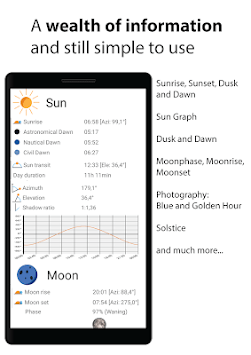 Sun Locator Lite (Sun and Moon) APK screenshot 1