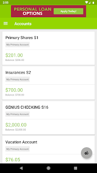 Genisys Mobile Banking APK screenshot 1