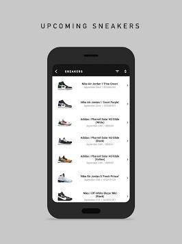 Droplist - Streetwear Release Info APK screenshot 1