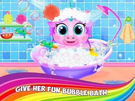 My Little Unicorn Daycare - Pet Care APK screenshot 1