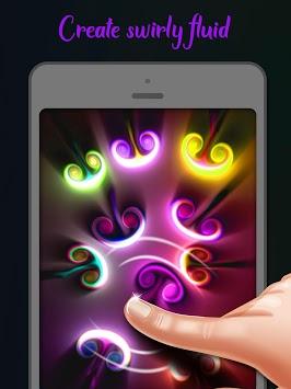 Fluid Simulation: Magic Glow Liquid APK screenshot 1
