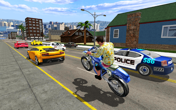 Grand Gangster Miami Mafia Crime War Simulator APK screenshot 1