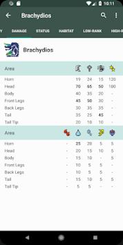 MHGen Database APK screenshot 1