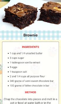 Easy Dessert Recipes APK screenshot 1
