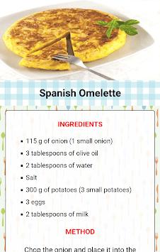 Homemade food recipes APK screenshot 1
