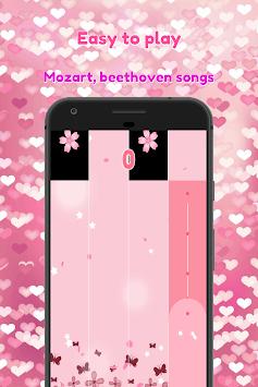 BTS Pink Piano Tiles APK screenshot 1