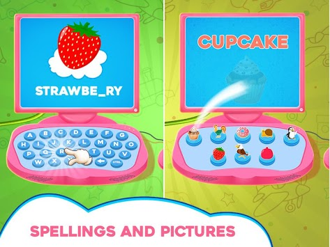 Princess Pink Computer For Girls APK screenshot 1