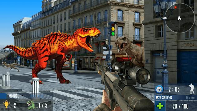 Dinosaur Hunting 2019: Dinosaur Games APK screenshot 1