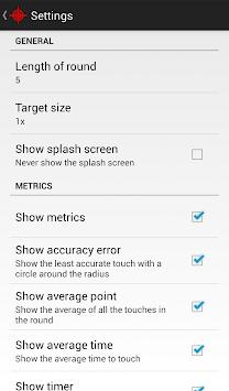 Touch Accuracy APK screenshot 1