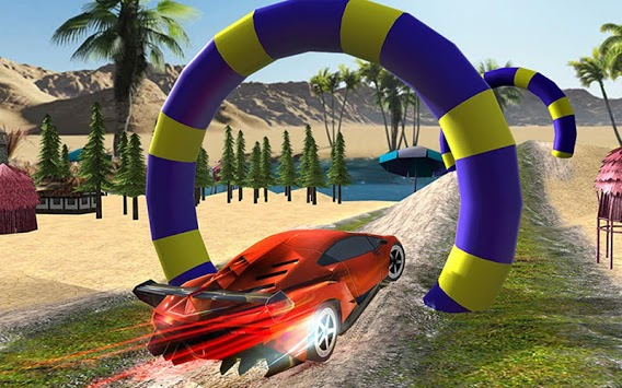 Water Surfing Stunts Game APK screenshot 1