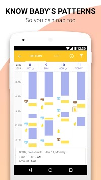 Glow Baby Breastfeeding Tracker, Nursing Timer App APK screenshot 1