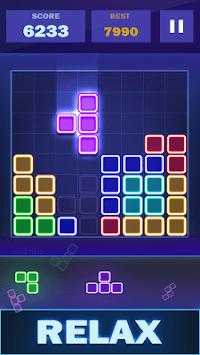 Glow Puzzle Block - Classic Puzzle Game APK screenshot 1