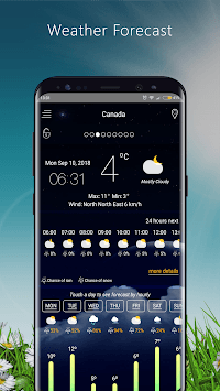 Weather Forecast apps - live Weather 2018 APK screenshot 1