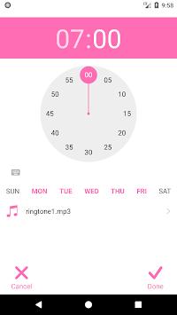 Black Pink Alarm Wallpaper APK screenshot 1