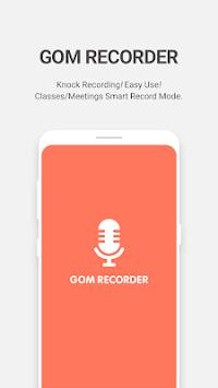 GOM Recorder - Voice and Sound Recorder APK screenshot 1