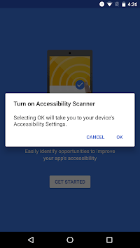 Accessibility Scanner APK screenshot 1