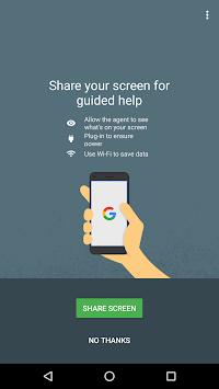 Google Support Services APK screenshot 1