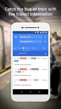 Google Maps Go - Directions, Traffic & Transit APK screenshot 1