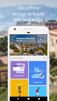 Google Trips - Travel Planner APK screenshot 1