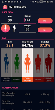 BMI Calculator APK screenshot 1