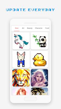 Pixel Art Book - Color by Number Free Games APK screenshot 1