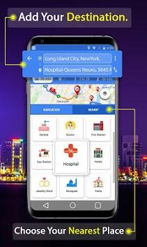 GPS Route Finder App: Directions, Navigation Maps APK screenshot 1