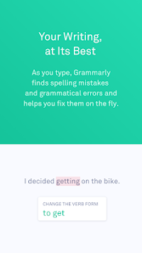 Grammarly Keyboard — Type with confidence APK screenshot 1