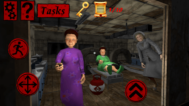 Granny's Hospital. Five Grannies' Nights APK screenshot 1