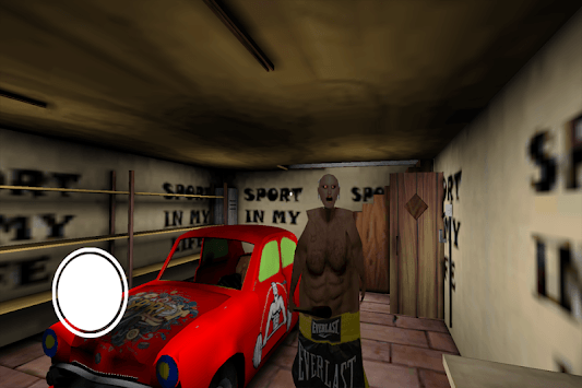 Bodybuilder granny Mod Horror: Scary Game 2019 APK screenshot 1