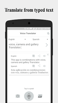 Voice Translator - Camera, Text APK screenshot 1