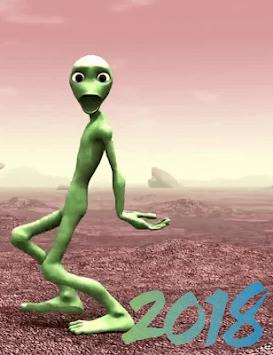 Green Alien Dance - New Dance Figures APK screenshot 1