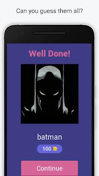 Guess the Superhero - Marvel Superhero Trivia Quiz APK screenshot 1
