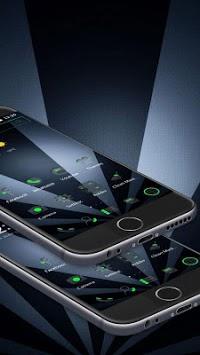 Grey Business Green Tech Theme APK screenshot 1