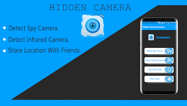 Secret  Camera Finder:New Anti Spy Camera 2019 APK screenshot 1