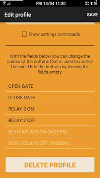 GSMS Remote Control APK screenshot 1