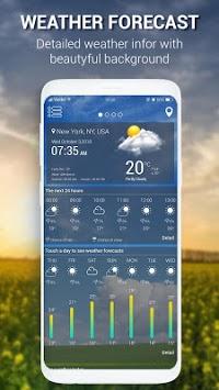 weather - weather forecast APK screenshot 1