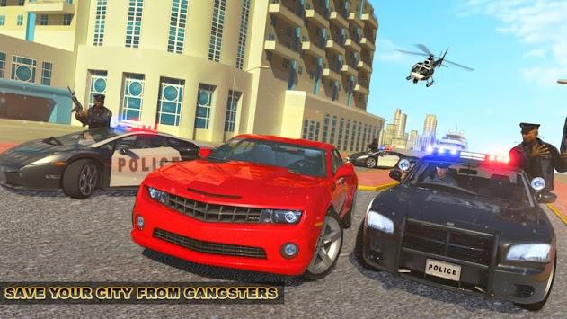 Crime Cop Car Chase Mission APK screenshot 1